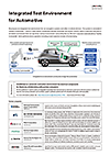 QC Integrated Test Environment for Automotive pamphlet